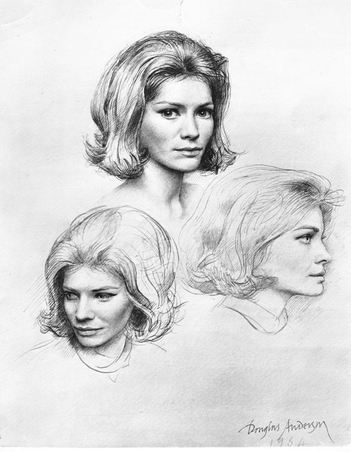 Elizabeth, Lady Ashcombe 1964
